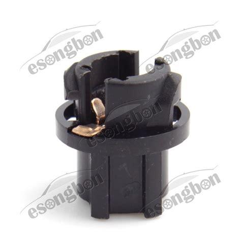 10pcs t5 74 twist lock socket bulb holders for instrument