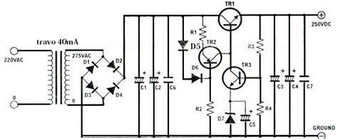High Voltage Regulator Circuit Electronic