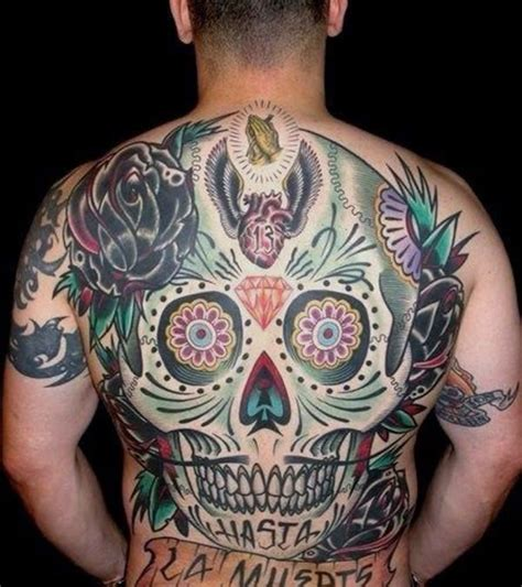 sugar skull tattoo designs  meaning wild tattoo art