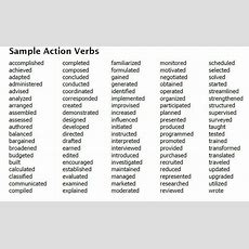 100+ Resume Action Verbs For Promoting Your Skills  Use These Words To Get Noticed, Promoted