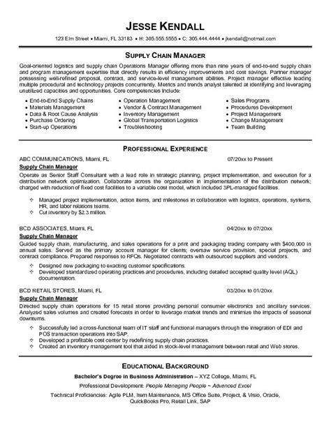 Vendor Development Manager Resume by Resume Exles Vendor Management Exles Management