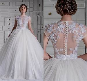 lace ball gown wedding dresses with sleeves great ideas With wedding dress ball gown with sleeves
