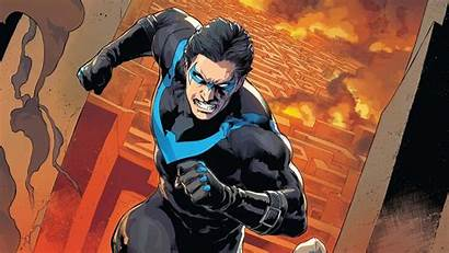Nightwing Comics Dc Angry Wallpapers Costumes Superhero