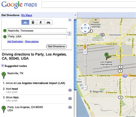 cute song lyrics  google map directions geekologie