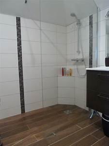 salle de bain a saint gregoire l39artisan de la maison With parquet douche italienne