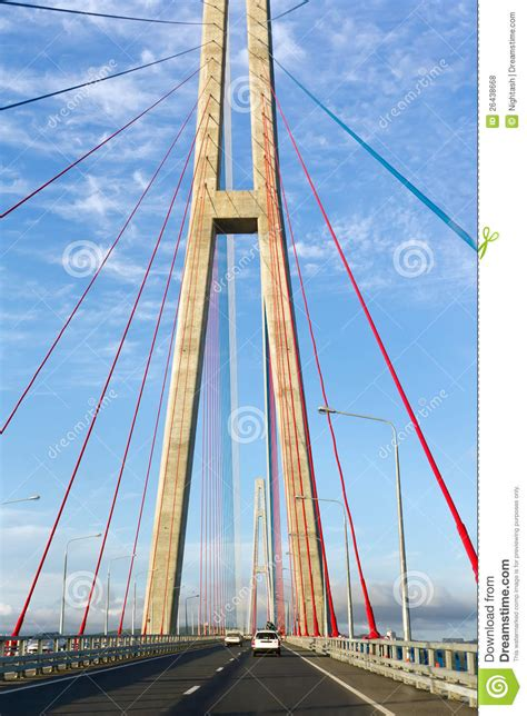 pylons   cable stayed bridge royalty  stock