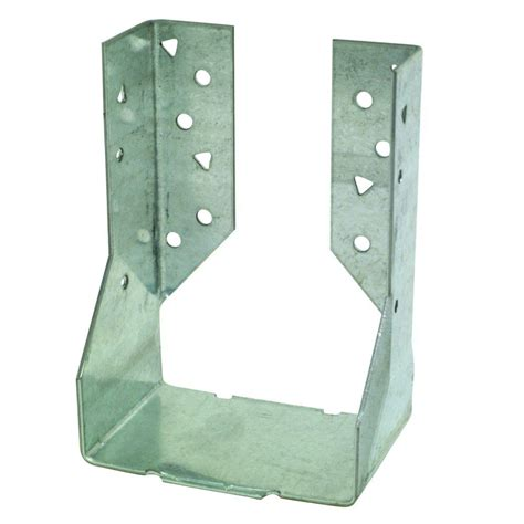 2 X 6 Decorative Joist Hangers by Strong Tie 4 In X 6 In Concealed Mount