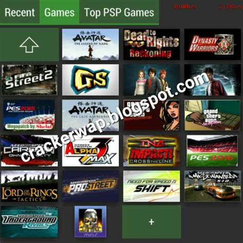 Top 5 Website To Download Psp/ppsspp Games.