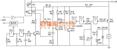 gt circuits gt infrared automatic dryer circuit diagram