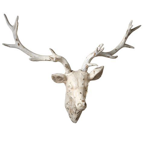 Distressed Deer Wall Dcor