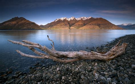 lake wakatipu queenstown  zealand hd wallpaper