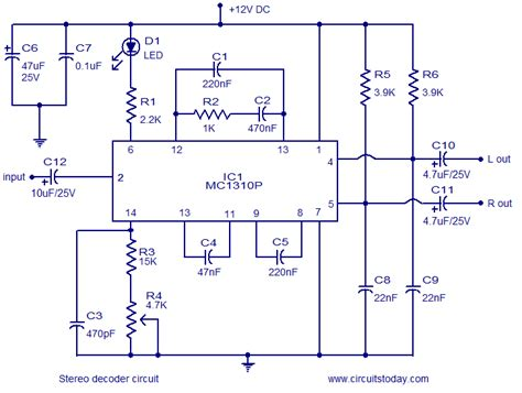 Stereo Decoder Circuit Using Mcp