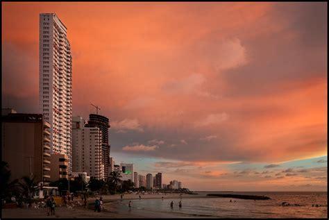 cartagena colombia playa de bocagrande bocagrande big