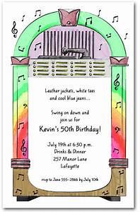 1950s jukebox party invitations With wedding invitation online jukebox