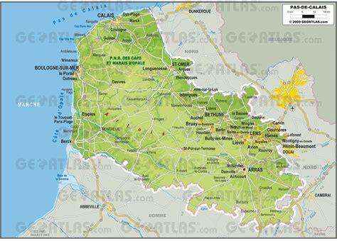 Carte Nord De La by Infos Sur Carte Pas De Calais Arts Et Voyages