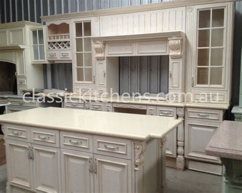 hamptons provincial style kitchen traditional federation