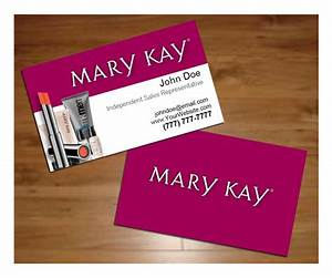 Mary kay business card templates wwwimgkidcom the for Mary kay business card template
