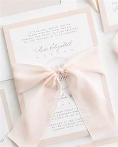 modern circle logo ribbon wedding invitations ribbon With how to make wedding invitations with ribbon