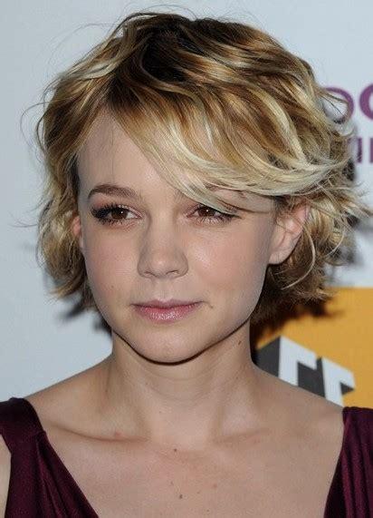 carey mulligan short hairstyles for fine hair popular