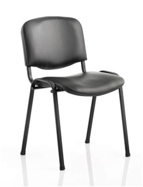 black vinyl stacking chair black frame