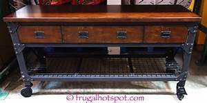 Costco: Whalen Industrial Metal & Wood Workbench $299 99
