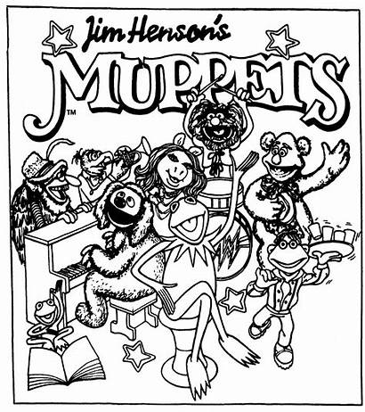 Muppets Coloring Comic Strip Pages Newspaper Jim
