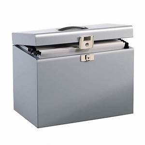 a4 metal box file silver staplesr With metal document file box