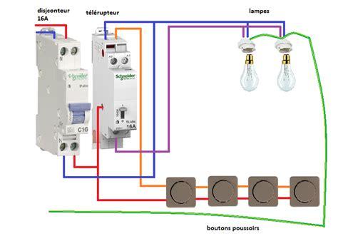 schema electrique salle de bain formidable tableau electrique dans salle de bain 14 schema electrique telerupteur unipolaire