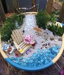 Hometalk Miniature Beach Garden