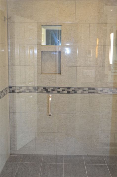 Zero Entry Shower, Blue Ash, OH   Contemporary   Bathroom