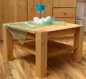 Beistelltisch Holz Massiv : massivholz couchtisch sofatisch beistelltisch kiefer massiv holz gelaugt ge lt ~ Indierocktalk.com Haus und Dekorationen