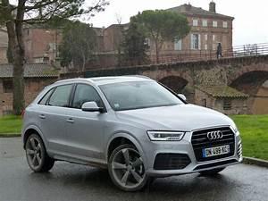 Audi Q3 Noir : essai audi q3 2 0 tdi 184 s tronic quattro l art de la nuance ~ Gottalentnigeria.com Avis de Voitures