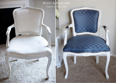 how to reupholster furniture diy reupholstered craigslist chair curtains