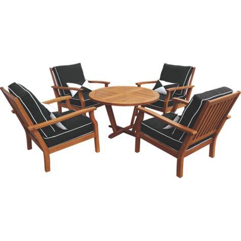 5 fresco timber lounge setting contemporary