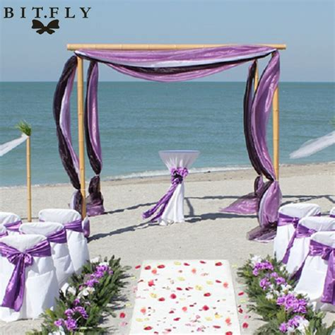 Color Black wedding backdrop table curtain10M*1 35M Sheer