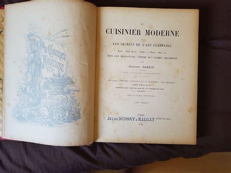 livre de cuisine ancien estimation livre manuscrit livre ancien de cuisine moderne