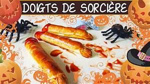 Recette Halloween Salé : recette des doigts de sorci re sal s halloween youtube ~ Melissatoandfro.com Idées de Décoration