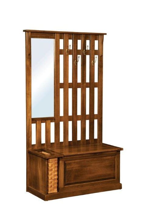 tree with storage bench amish rustic mission tree bench with storage
