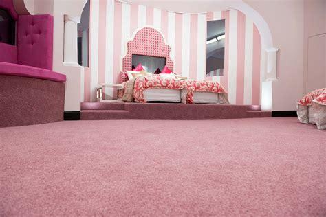 the pink bedroom