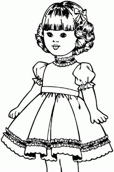 American Girl Doll Coloring Pictures Coloring Pages For Kids