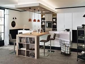 Les 25 meilleures idees concernant tables pour ilot de for Petite cuisine équipée avec meuble colonne salle a manger