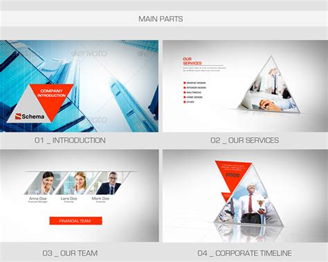After Effects Project Files Clean Corporate Videohive On