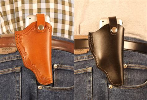 iphone holster holster styled iphone leather gadgetsin