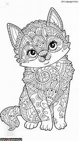 Mandala Coloring Animal Pages Mandalas Entitlementtrap Animals Colouring Cat Fox Inspiration Awesome Adult Cool Books sketch template