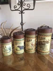 kitchen canisters canada farmhouse county rustic kitchen canisters display pieces aud 55 00 picclick au