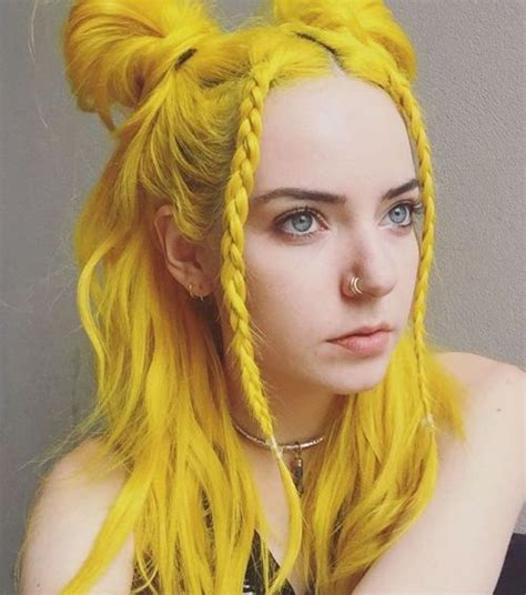 With Yellow Hair by 30 Creative Hairstyles And Haircuts For In 2019