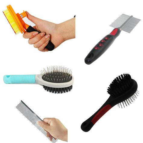 brushes and combs shedding blades pet cat fur hair grooming brush comb hair shedding
