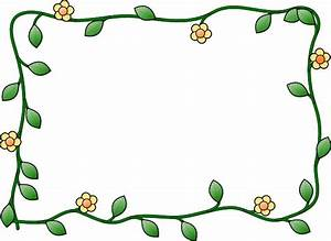 Flower Frame clip art Free vector in Open office drawing ...