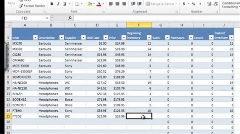 inventory control spreadsheet template how to manage inventory with excel inventory tracking