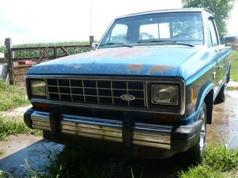 auto air conditioning service 1984 ford ranger electronic valve timing purchase used 1984 ford ranger diesel xlt 2 door 2 2l very nice orginal condition in straughn